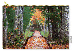 Autumn At Jesup Path Carry-all Pouch