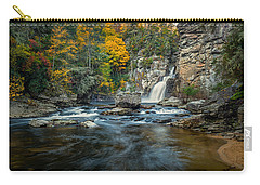 Autumn At Linville Falls - Linville Gorge Blue Ridge Parkway Carry-all Pouch