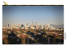 Autumn At The City Carry-all Pouch