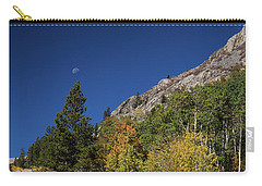 Carry-all Pouch featuring the photograph Autumn Bella Luna by James BO Insogna