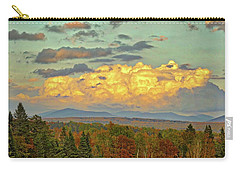 Autumn Clouds Over Maine Carry-all Pouch