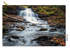 Carry-all Pouch featuring the photograph Autumn Days by Russell Pugh