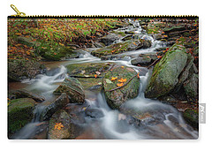Carry-all Pouch featuring the photograph Autumn Falling 2 by Bill Wakeley