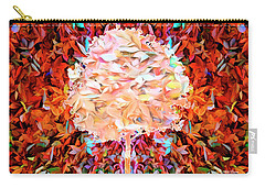 Carry-all Pouch featuring the photograph Autumn Leaves by Mike Braun