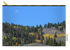 Carry-all Pouch featuring the photograph Autumn Moon by James BO Insogna