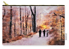 Autumn Walkers Carry-all Pouch