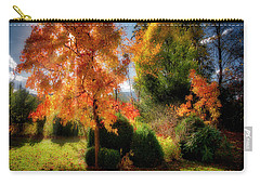 Carry-all Pouch featuring the photograph Autumnal Glory by Edmund Nagele