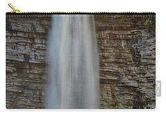 Carry-all Pouch featuring the photograph Awosting Water Falls Ny by Susan Candelario