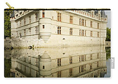 Carry-all Pouch featuring the photograph Azay-le-rideau by Stephen Taylor