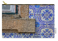 Azulejo Tile Of Portugal Carry-all Pouch