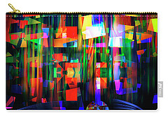 Carry-all Pouch featuring the digital art Back To The Future by Edmund Nagele