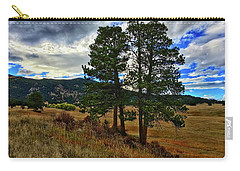 Carry-all Pouch featuring the photograph Backlit Pine by Dan Miller