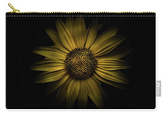 Carry-all Pouch featuring the photograph Backyard Flowers 18 Color Version by Brian Carson