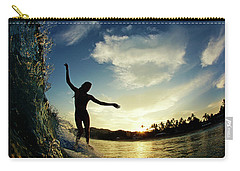 Carry-all Pouch featuring the photograph Balance by Nik West