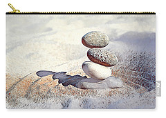 Carry-all Pouch featuring the digital art Balance by Pennie McCracken