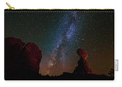 Balanced Rock Below The Milky Way Carry-all Pouch