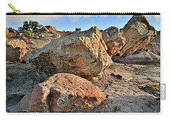 Balanced Rocks In Bentonite Site Carry-all Pouch
