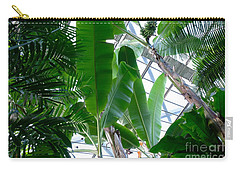 Banana Leaves In The Greenhouse Carry-all Pouch