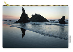 Carry-all Pouch featuring the photograph Bandon By The Sea 102018 by Rospotte Photography