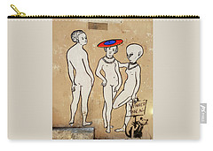 Banksy Paris Winner Take All Carry-all Pouch