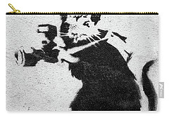 Banksy Rat With Camera Carry-all Pouch