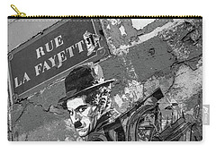 Banksy Rue La Lafayette Carry-all Pouch