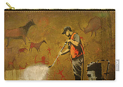 Banksy's Cave Painting Cleaner Carry-all Pouch