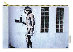 Bansky Fast Food Caveman Los Angeles Carry-all Pouch