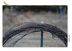Barbed Wire   New Strands Old Roll Carry-all Pouch