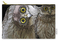Barking Owls 2 Carry-all Pouch