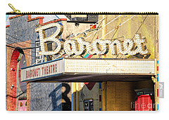 Baronet Theater Asbury Park New Jersey 1913 Demolished In 2010 Carry-all Pouch