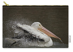 Bathing Pelican Carry-all Pouch