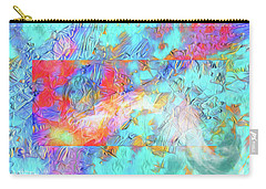 Carry-all Pouch featuring the digital art Battle For Europa by Mike Braun