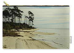 Beach And Trees Carry-all Pouch