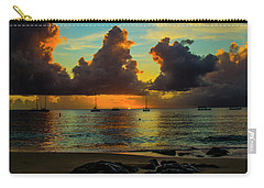 Beach At Sunset 2 Carry-all Pouch