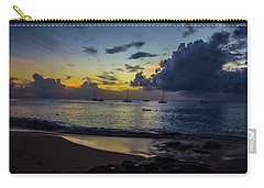 Beach At Sunset 3 Carry-all Pouch
