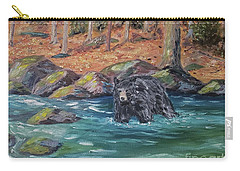 Bear Crossing Carry-all Pouch