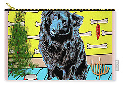 Carry-all Pouch featuring the photograph Bear Paw Holiday by Lou Novick