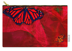 Beautiful And Fragile In Red Carry-all Pouch