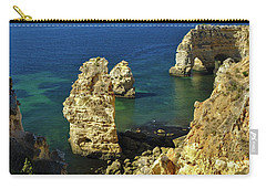 Beautiful Marinha Beach From The Cliffs Carry-all Pouch