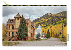 Carry-all Pouch featuring the photograph Beautiful Small Town Rico Colorado by James BO Insogna