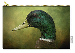 Beauty In Green Carry-all Pouch