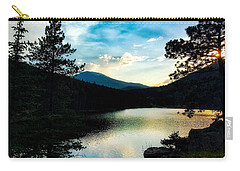 Carry-all Pouch featuring the photograph Beaver Brook Lake by Dan Miller