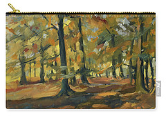 Beeches In Autumn Carry-all Pouch