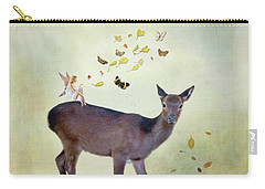 Carry-all Pouch featuring the digital art Believe by Sue Collura
