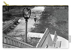 Carry-all Pouch featuring the photograph Below Brady Street by PJ Boylan