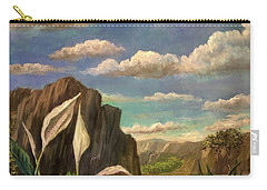 Beneath The Clouds Of Africa Carry-all Pouch