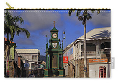 Carry-all Pouch featuring the photograph Berkeley Memorial Clock by Tony Murtagh
