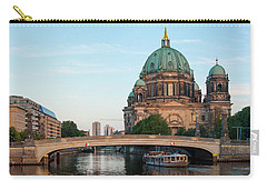 Berliner Dom And River Spree In Berlin Carry-all Pouch
