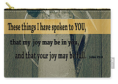 Bible Verses  Art 112 Carry-all Pouch